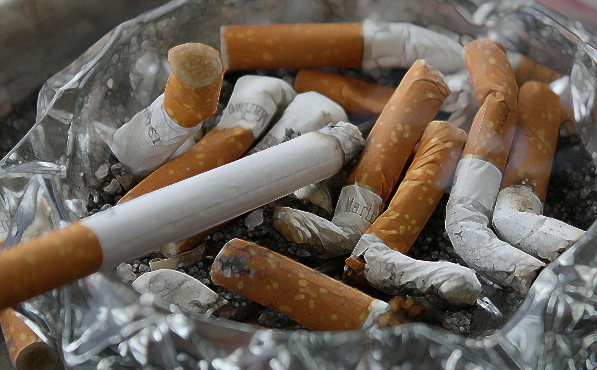 Las colillas de los cigarrillos son una fuente de contaminación